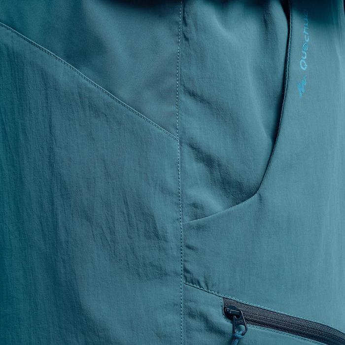 Short de randonnée montagne MH100 homme bleu clair