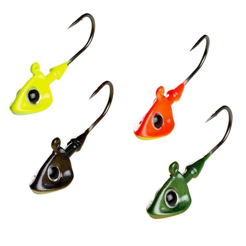 MĚKKÉ NÁSTRAHY K MONTÁŽÍM Rybolov - JIGOVÁ HLAVA TP DA 3,5 G CAPERLAN - Návnady a nástrahy na ryby
