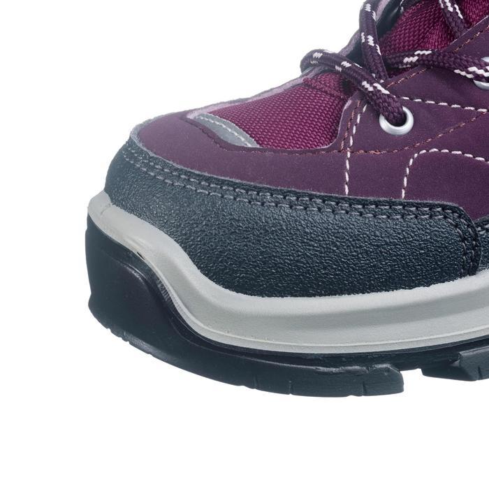 Chaussures de randonnée montagne enfant MH500 mid imperméable violet