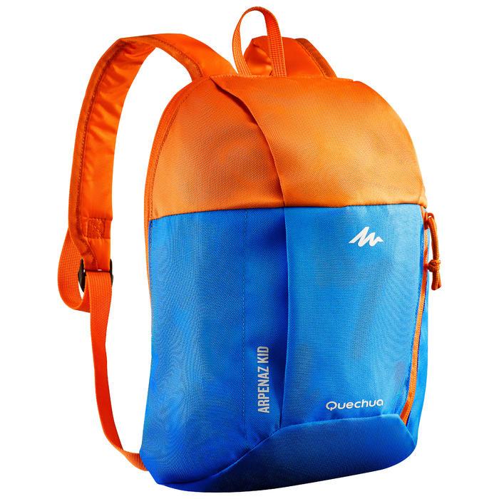 Mochila de senderismo júnior Arpenaz 7 litros niños azul naranja