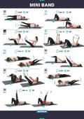VYBAVENÍ NA POSILOVÁNÍ Fitness - MINI POPRUHY NA PILATES MEDIUM DOMYOS - Příslušenství na cvičení a pilates