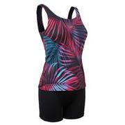Women's Swimming One-Piece Tankini Swimsuit Heva - Ond Black