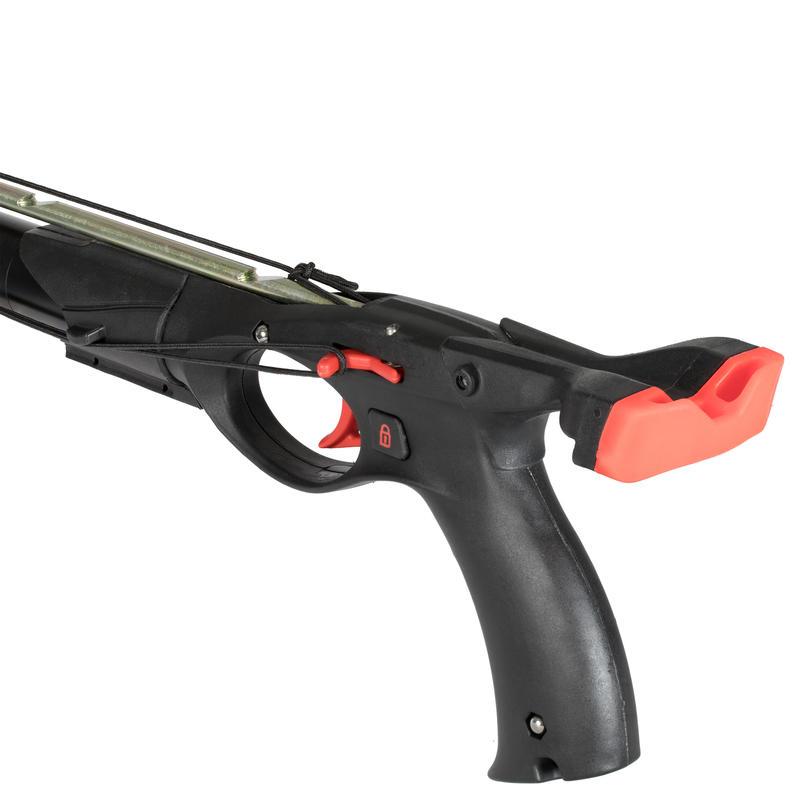 Speargun SPF 100 50 cm for free-diving spearfishing