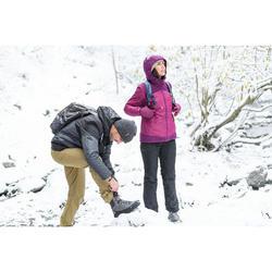 Veste de randonnée neige femme SH100 x-warm noir
