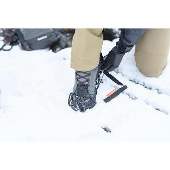 Chaussures de randonnée neige homme SH100 warm high kakies.
