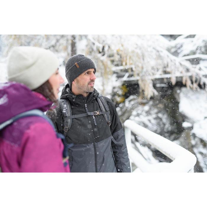 Wanderjacke Winterwandern SH100 X-Warm Herren blau