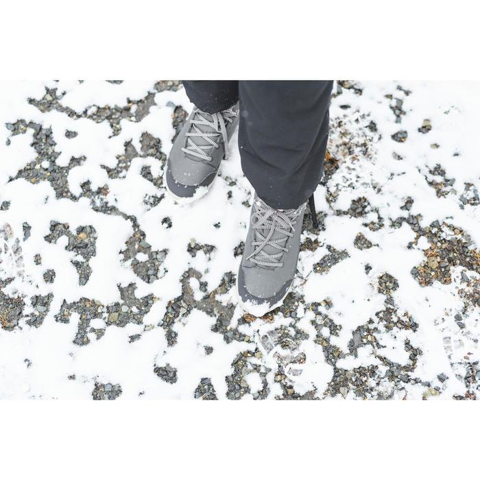 Winterschuhe SH100 Warm halbhoch Damen khaki