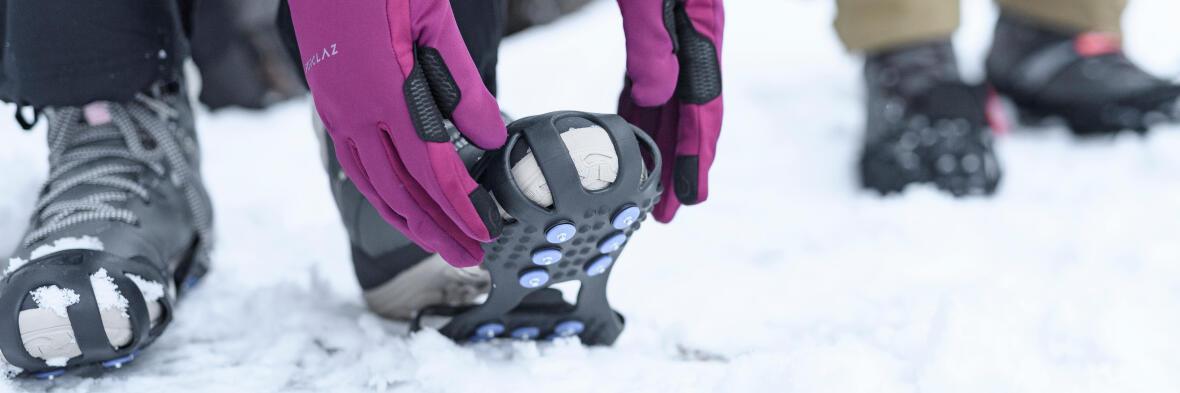 bottes de randonnée neige SH500 x-warm