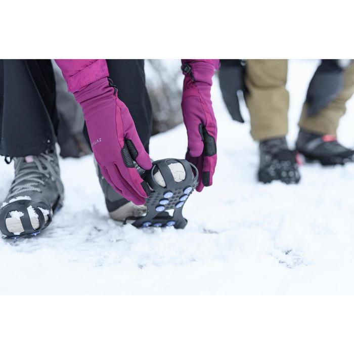 Antideslizante de senderismo nieve SH100 Negro