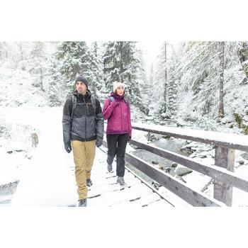 Heren wandelbroek voor de sneeuw SH500 X-warm bruin