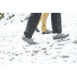 Winterschuhe Winterwandern SH100 Warm wasserdicht Damen schwarz