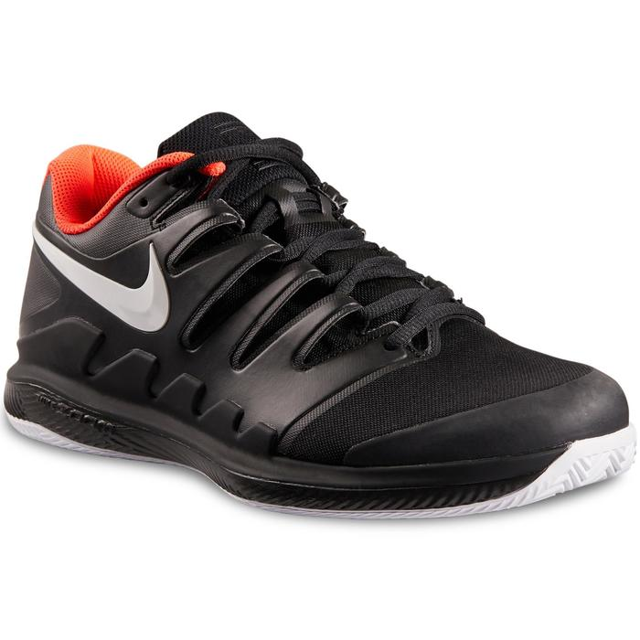 Tennisschoenen heren Zoom Vapor 10 voor gravel zwart