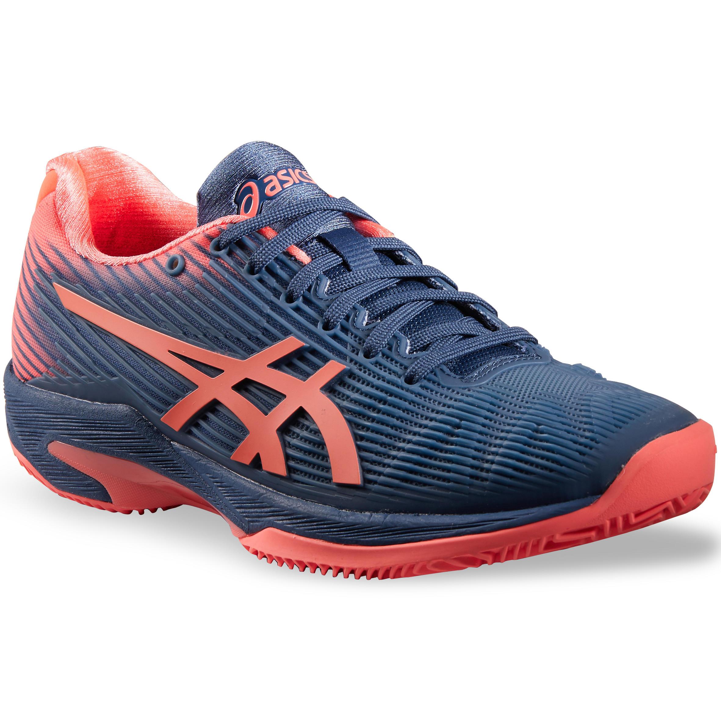 Asics Tennisschoenen voor dames Gel Solution Speed blauw roze