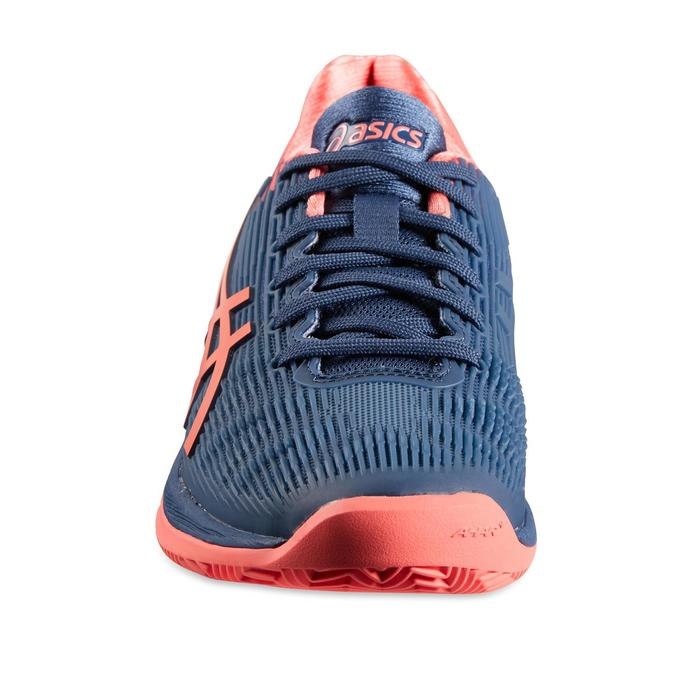 Tennisschuhe Gel Solution Speed Damen blau/rosa
