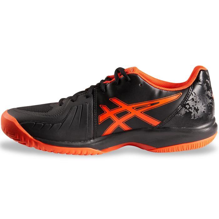 Tennisschuhe Court Speed Multicourt schwarz/orange