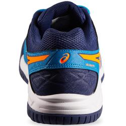 Tennisschuhe Kinder Gel Rally blau/orange
