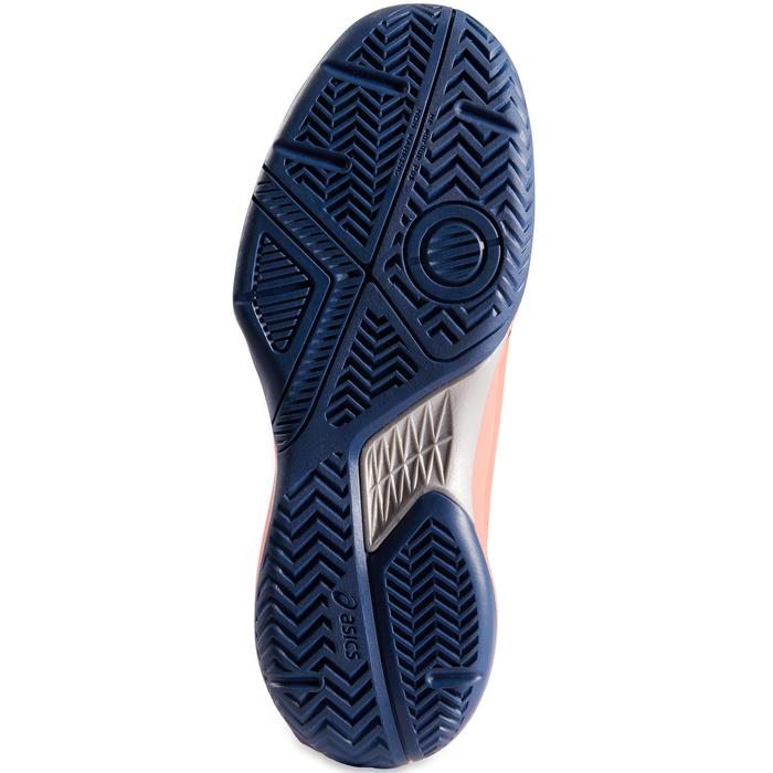 Tennisschuhe Gel Game Multicourt Damen korallenrot