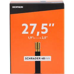 Fahrradschlauch 27.5 x 1.9/ 2.5 Schrader 48 mm