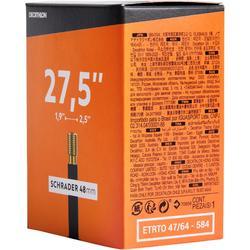 Binnenband 27.5x1.9/2.5 Schraderventiel 48 mm