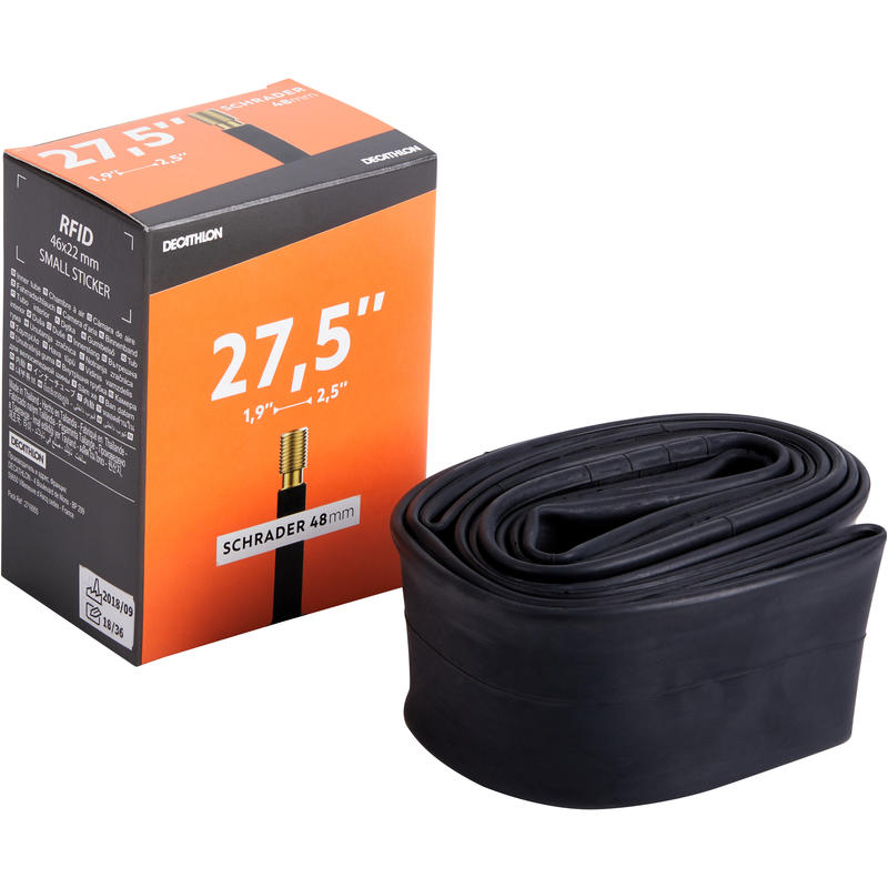 27.5x1.9-2.5 Bike Inner Tube - Schrader