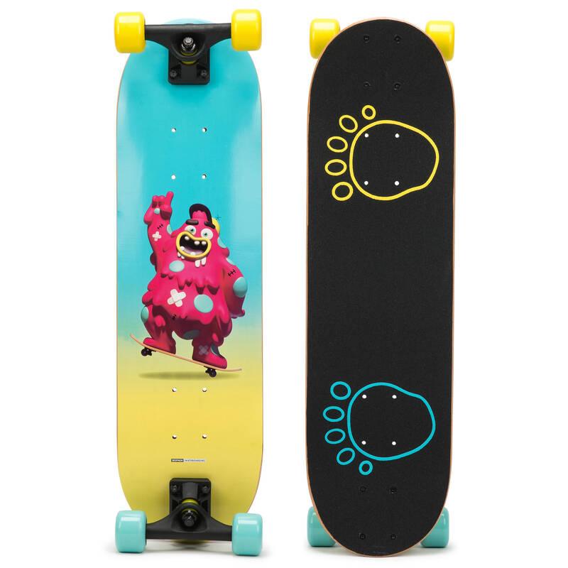 SKATEBOARD ZAČÁTKY Skateboarding, longboarding, waveboarding - DĚTSKÝ SKATEBOARD PLAY120 OXELO - Vybavení na skateboard