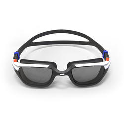 SPIRIT 500 Size L Swimming Goggles Orange Blue Smoke Lenses