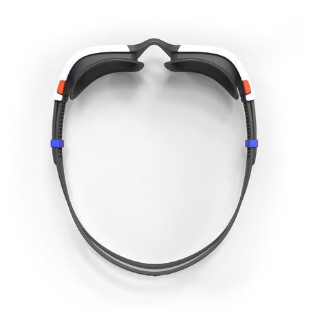 Окуляри для плавання Spirit 500, розмір L, затемнені лінзи - Помаранчеві/Сині