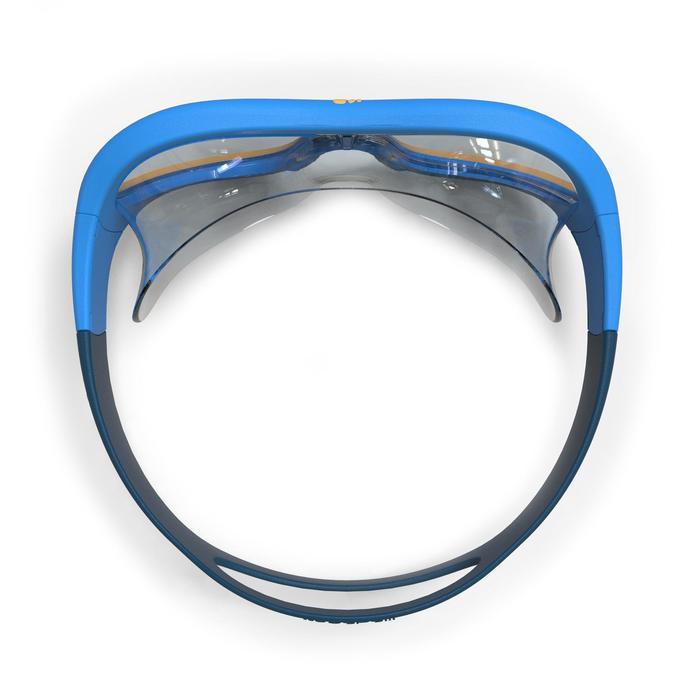 Schwimmmaske Swimdow 100 S blau/gelb