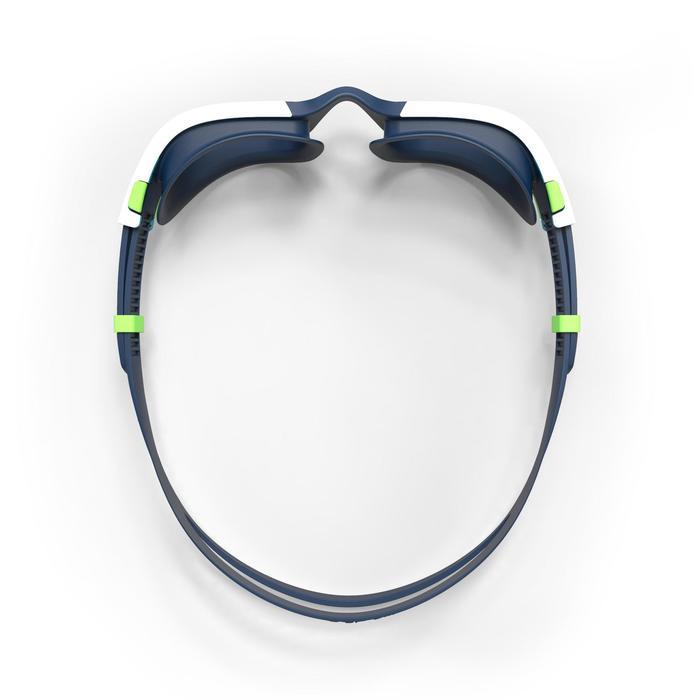 Zwembril 500 Spirit maat L blauw/groen lichte glazen