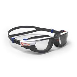 Swimming Goggles Spirit Clear Lenses Small- Orange Blue
