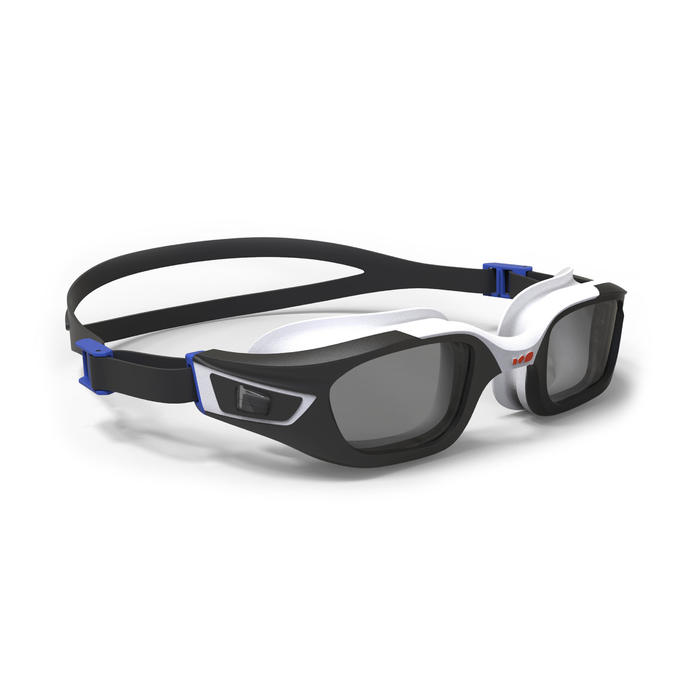 Brillengestell für Schwimmbrille 500 Selfit Größe L blau/weiß *CN