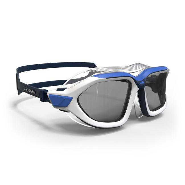 Swimming Mask Active Smoked Lenses Large- Blue