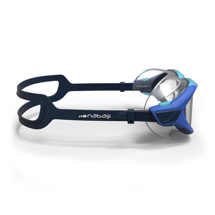 Zwembril 500 Active maat S blauw heldere glazen