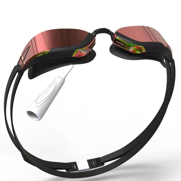 7e1efb6765e Gafas Natación Piscina Nabaiji 900 Bfast Adulto Negro Blanco Antivaho