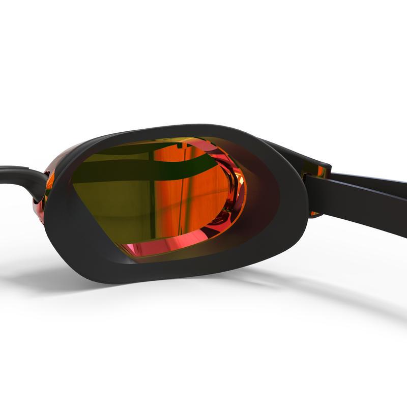 แว่นตาว่ายน้ำรุ่น B-FAST 900 (สีดำ/แดง เลนส์สะท้อนแสง)
