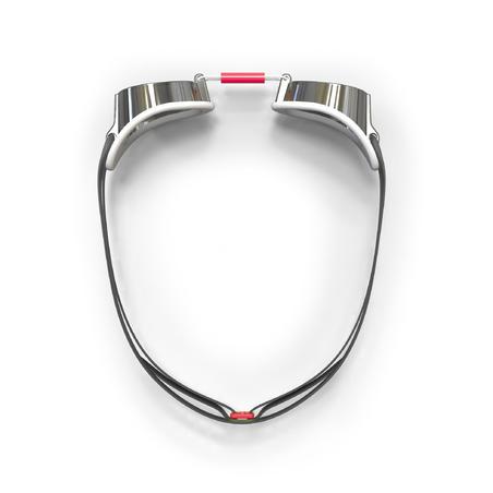 """Peldēšanas brilles """"Swedish 900"""", spoguļlēcas, baltas, sarkanas"""