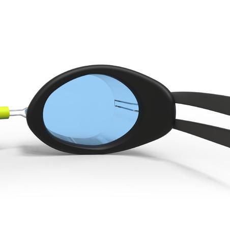 Swedish Swimming Goggles 900 - Black Yellow Clear Lenses