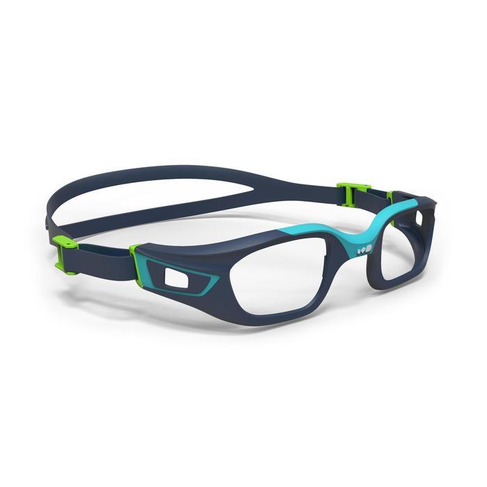 Montura para gafas de natación 500 SELFIT Talla S azul verde