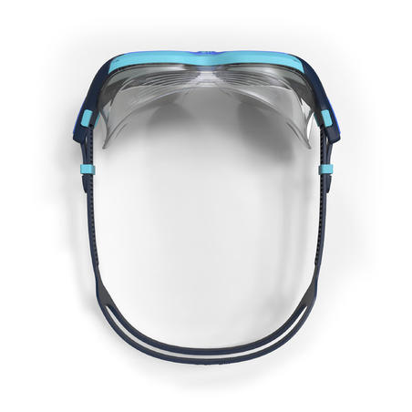 SWIMMING POOL MASK ACTIVE SIZE S SMOKED LENSES - BLUE / SAPHIRE