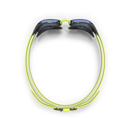 Kacamata Renang Lensa Clear B-FAST 900 - Hitam Hijau