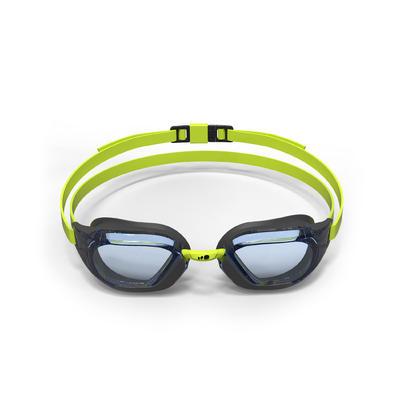 900 B-FAST Swimming Goggles - Black Green, Clear Lenses