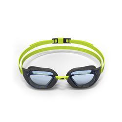 Zwembril B-Fast transparant zwart/groen