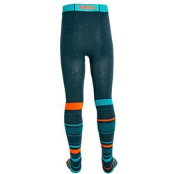 Strumpfhose Kinder blau/orange