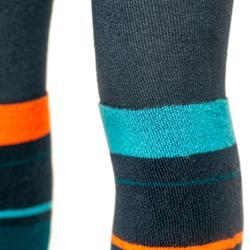 Strumpfhose Kinder blau/orange