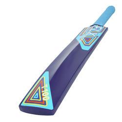 T 100 Juniors Poplar Cricket Bat For Soft Tennis Ball Blue