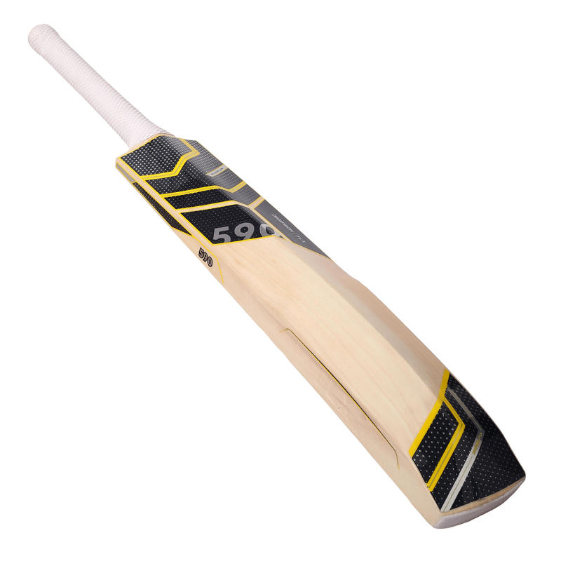 EW590 ADULTS ENGLISH WILLOW POWER CRICKET BAT, BLACK