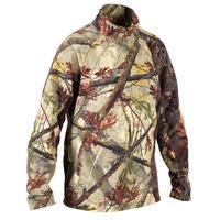 Hunting Silent Fleece 100 - Woodland Camouflage
