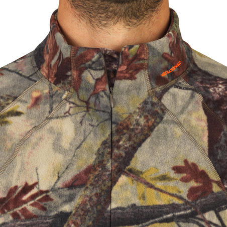 POLAIRE Chasse Silencieuse 100 CAMOUFLAGE FORET