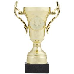 Beker C100 goud 16 cm
