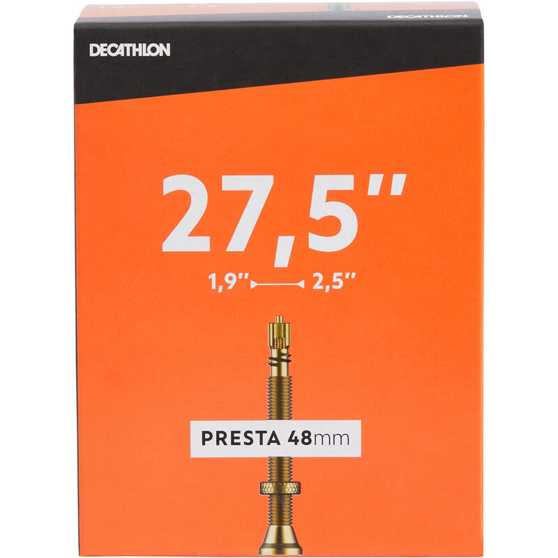 Камера 27,5x1,9/2,5 з ніпелем Presta 48 мм